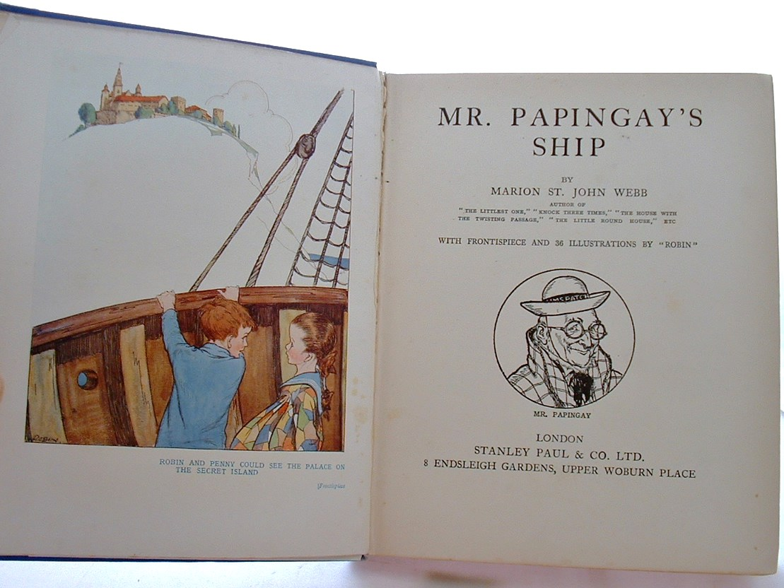 Image for Mr Papingay'S Ship