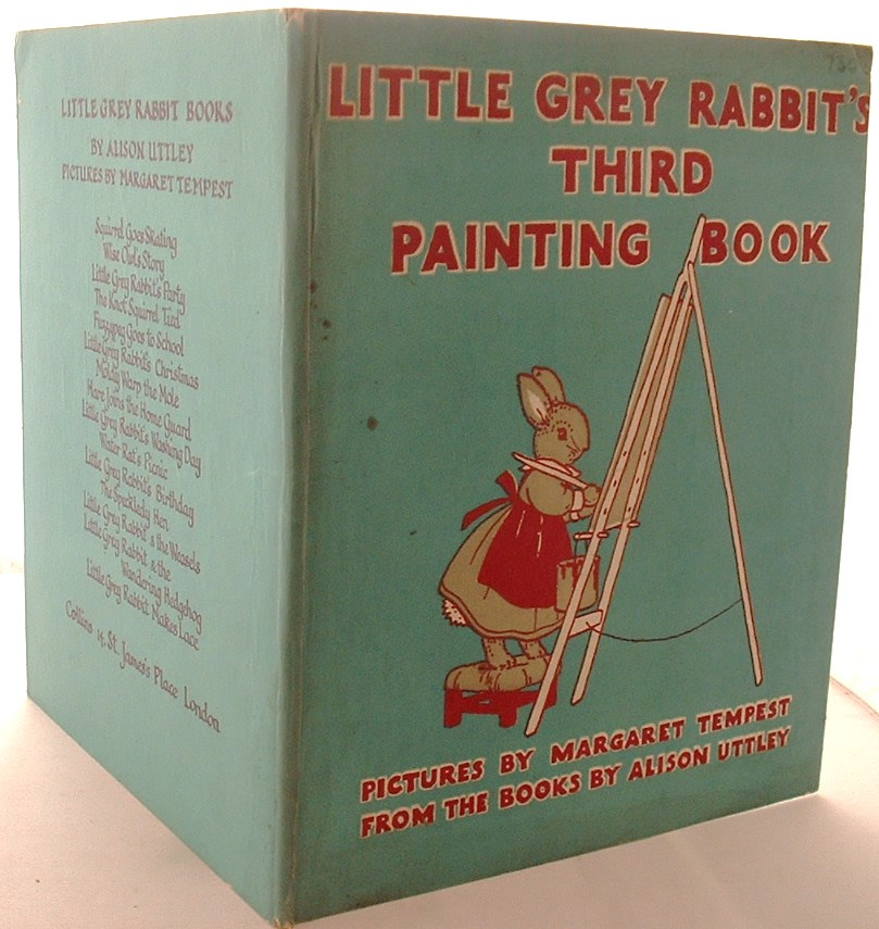 Little Grey Rabbit's Third Painting Book