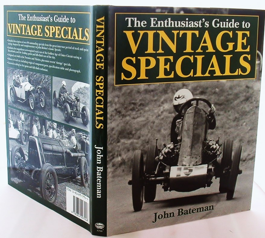 Image for The Enthusiast's Guide to Vintage Specials