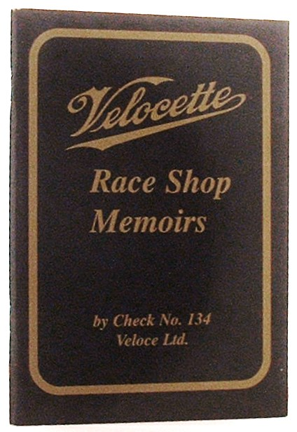 Image for Velocette : Race Shop Memoirs