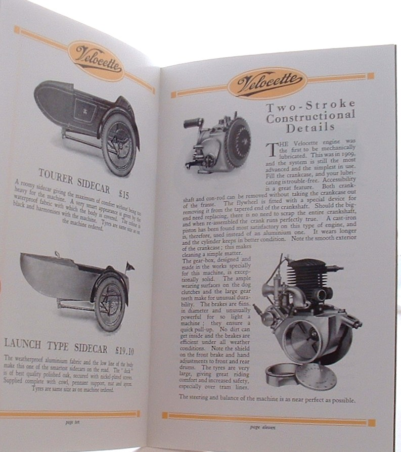 Image for Velocette Motor Cycles 1928 Brochure