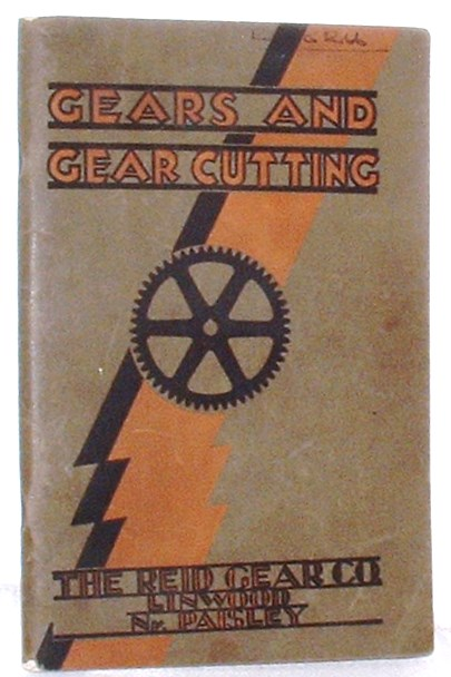 Image for Gears And Gear Cutting