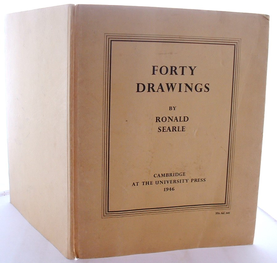 Forty Drawings by Ronald Searle