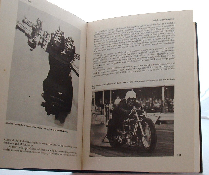 Image for Lucky All My Life: Biography of Harry Weslake (A Foulis motoring book)
