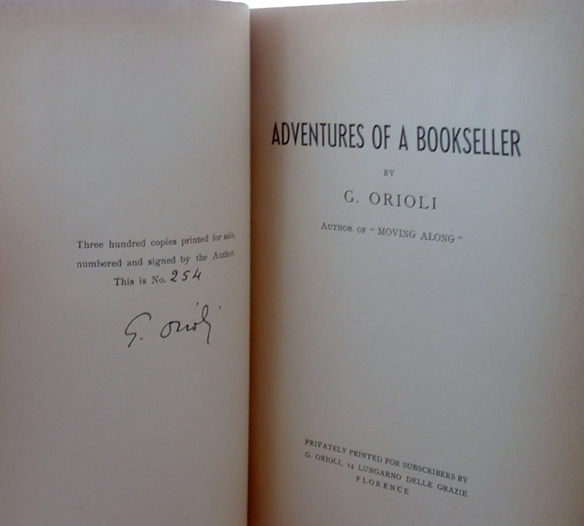 Image for Adventures of a Bookseller