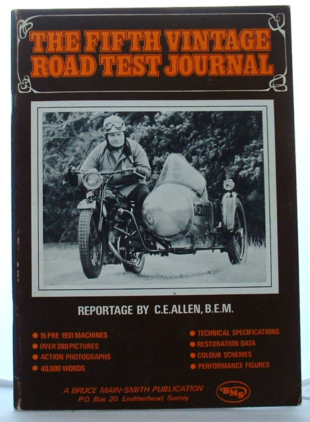 Image for The Fifth Vintage Road Test Journal