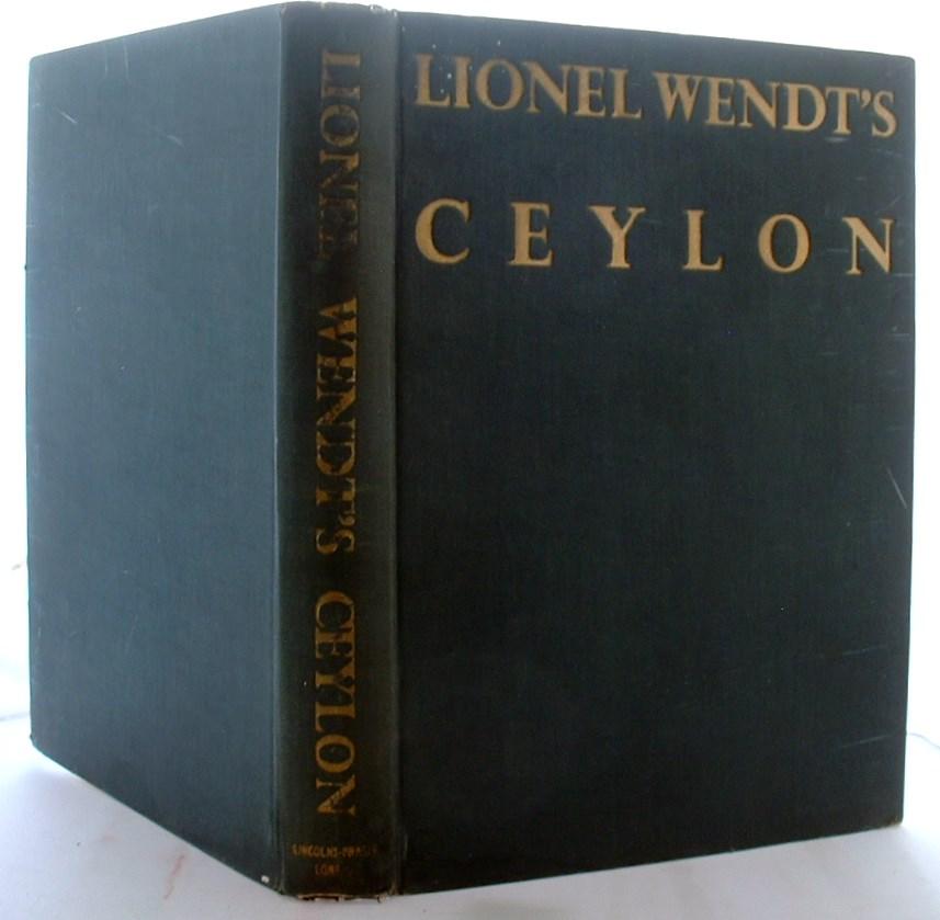 Lionel Wendt's Ceylon