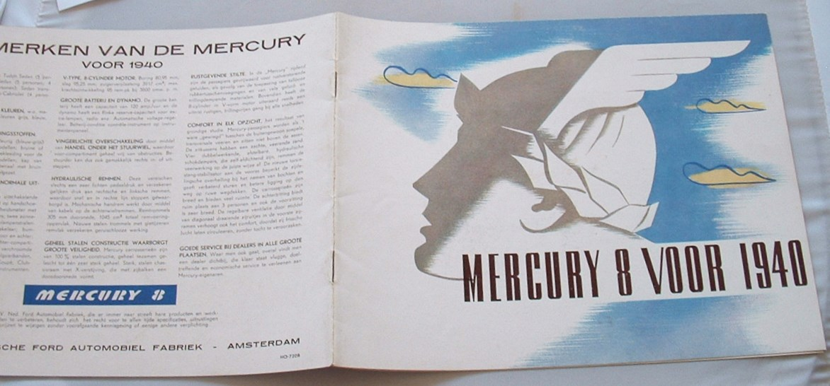Image for Mercury 8 Voor 1940