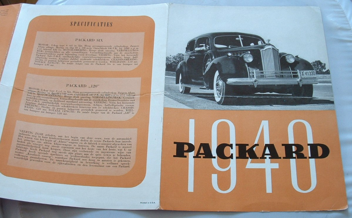 Image for Packard 1940
