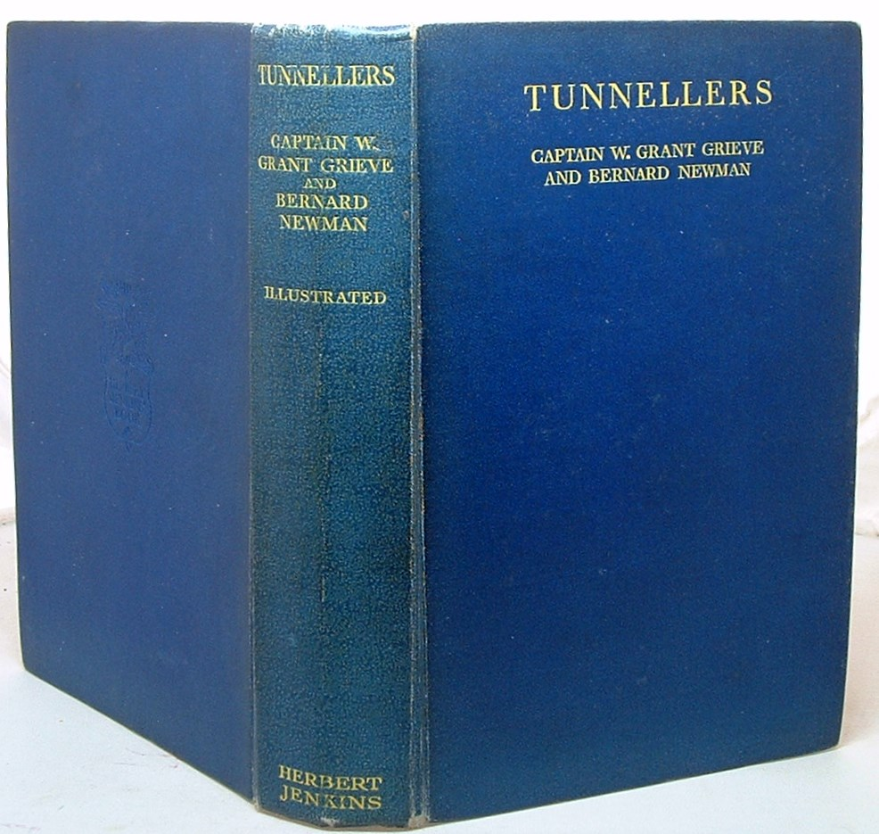 Image for Tunnellers. The Story of the Tunnelling Companies, Royal Engineers, During the World War