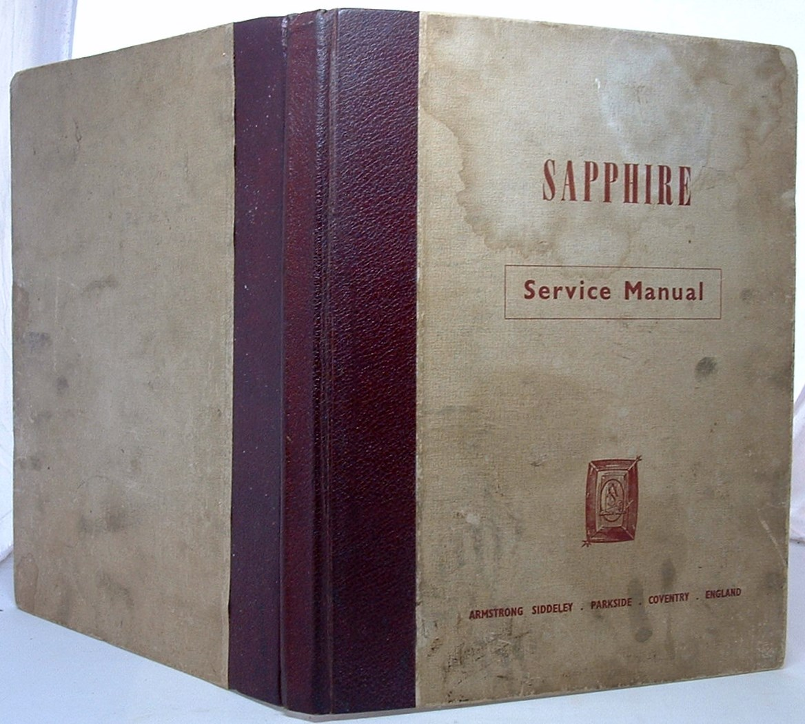 Image for Sapphire Service Manual