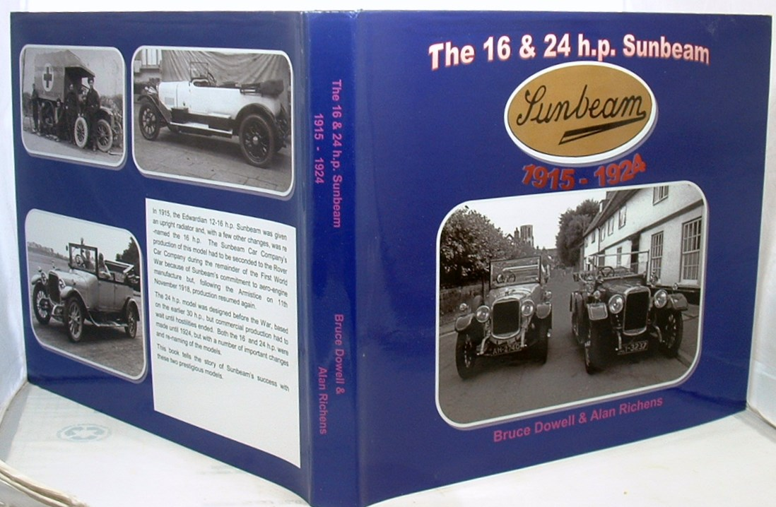 Image for The 16 and 24 h p Sunbeam 1915- 1924