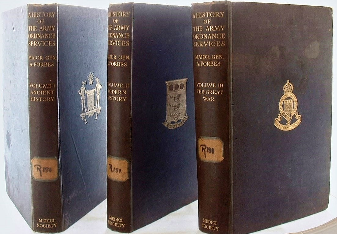 Image for A History of the Army Ordnance Services  3 Volumes