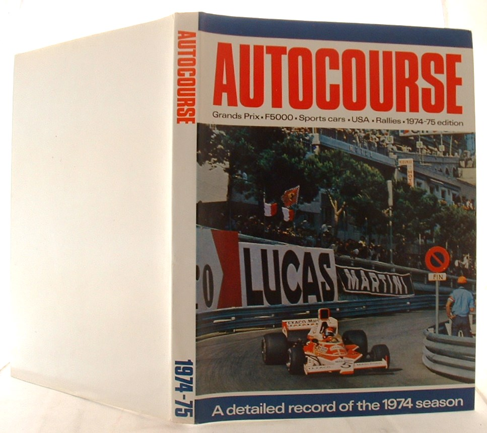 Image for Autocourse 1974-75