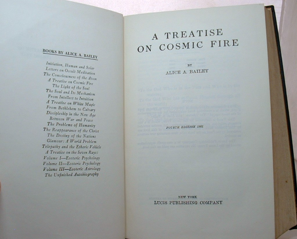 Image for A treatise on cosmic Fire