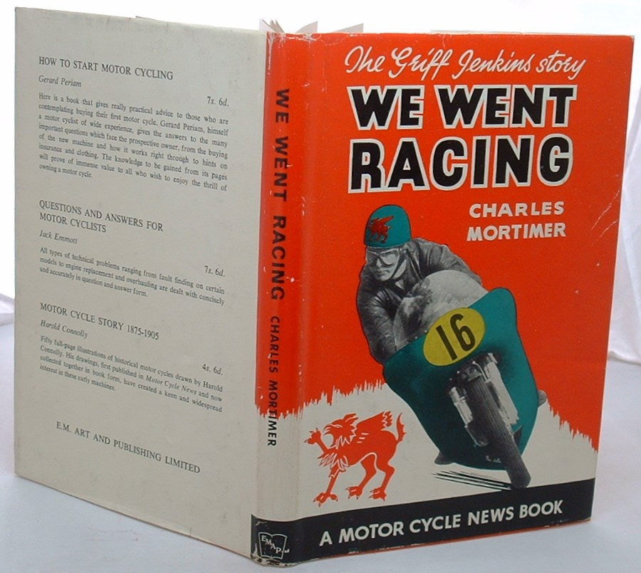 Image for We Went Racing: The Griff Jenkins Story