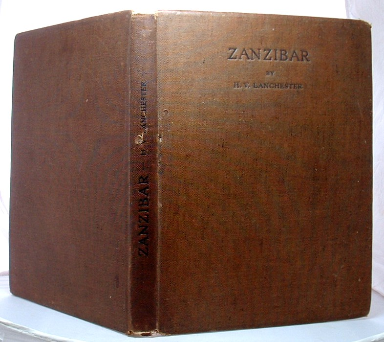 Image for Zanzibar; a study in tropical town Planning